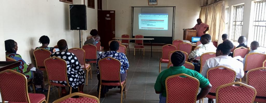 Training and Constituting a resource team to strengthen participation of CSOs in planning and budgeting processes under GIZ