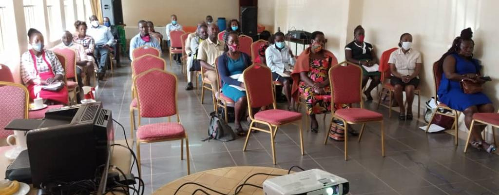 Building the capacity of CSOs in fulfilling their mandates under GIZ at the District Headquarters